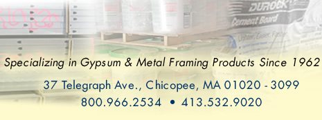 Specializing in Gypsum & Metal Framing Products