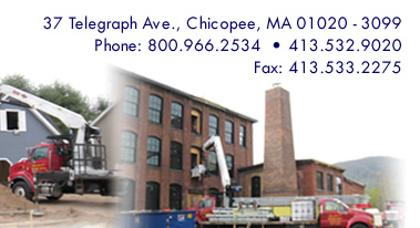 37 Telegraph Ave., Chicopee, MA 01020-3099, Phone: 800.966.2534, 413.532.9020